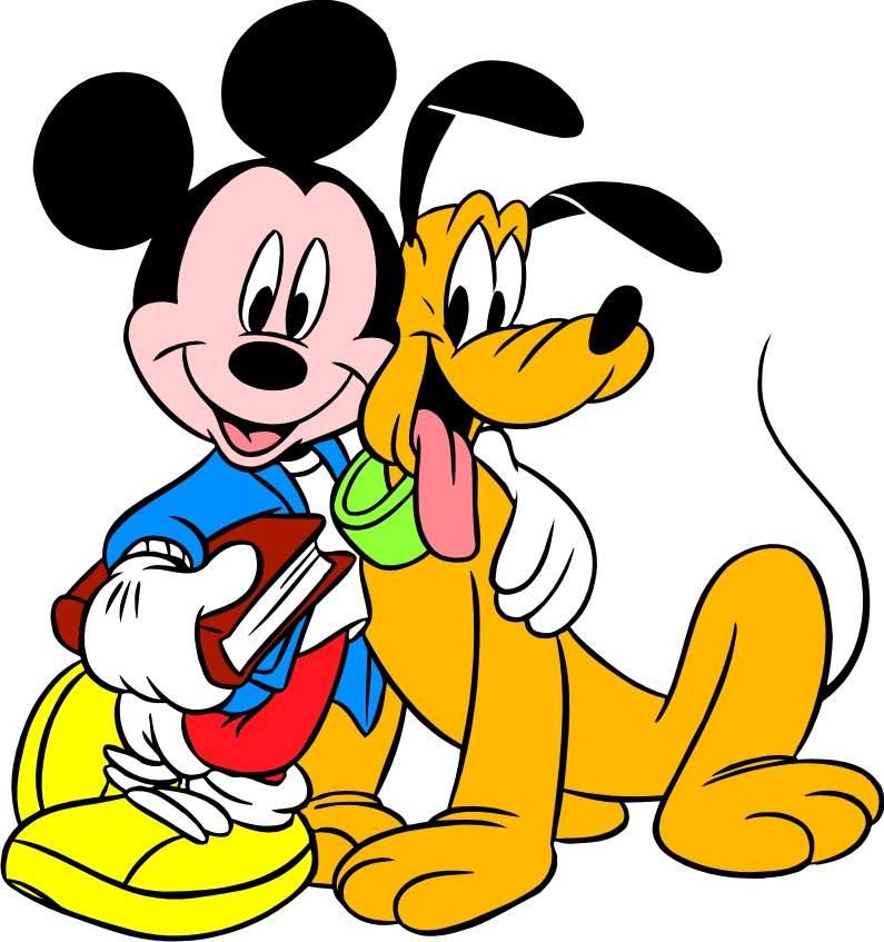 Mickey Mouse & Pateta